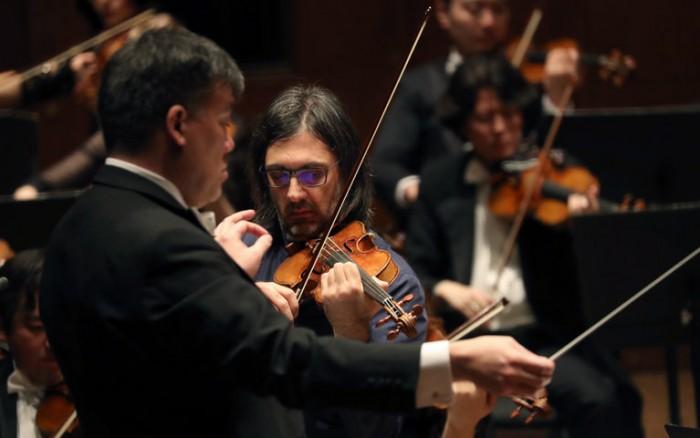 Leonidas Kavakos and Alan Gilbert